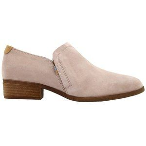 Toms Shaye Low Booties Blush Suede New - 9.5